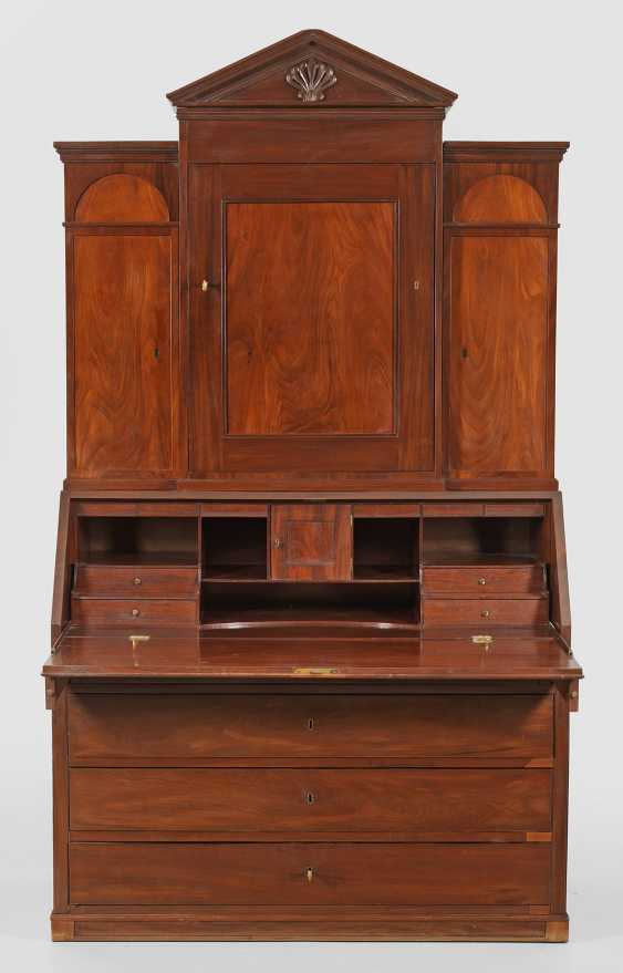 Large Biedermeier Writing Desk - photo 1
