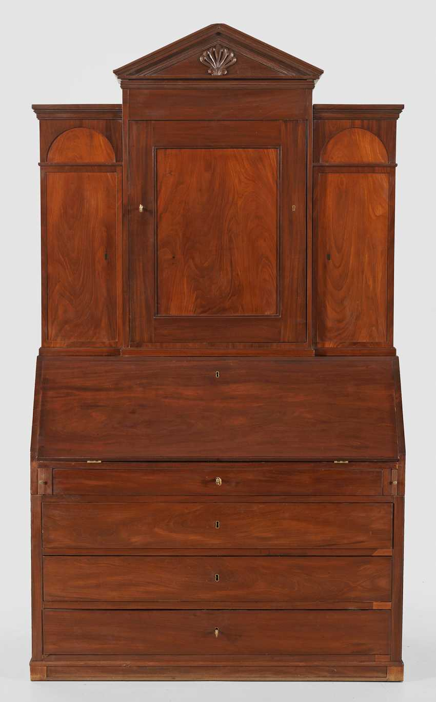 Large Biedermeier Writing Desk - photo 2