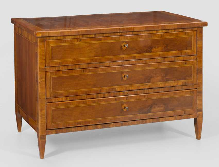 Large Empire Chest Of Drawers - photo 1