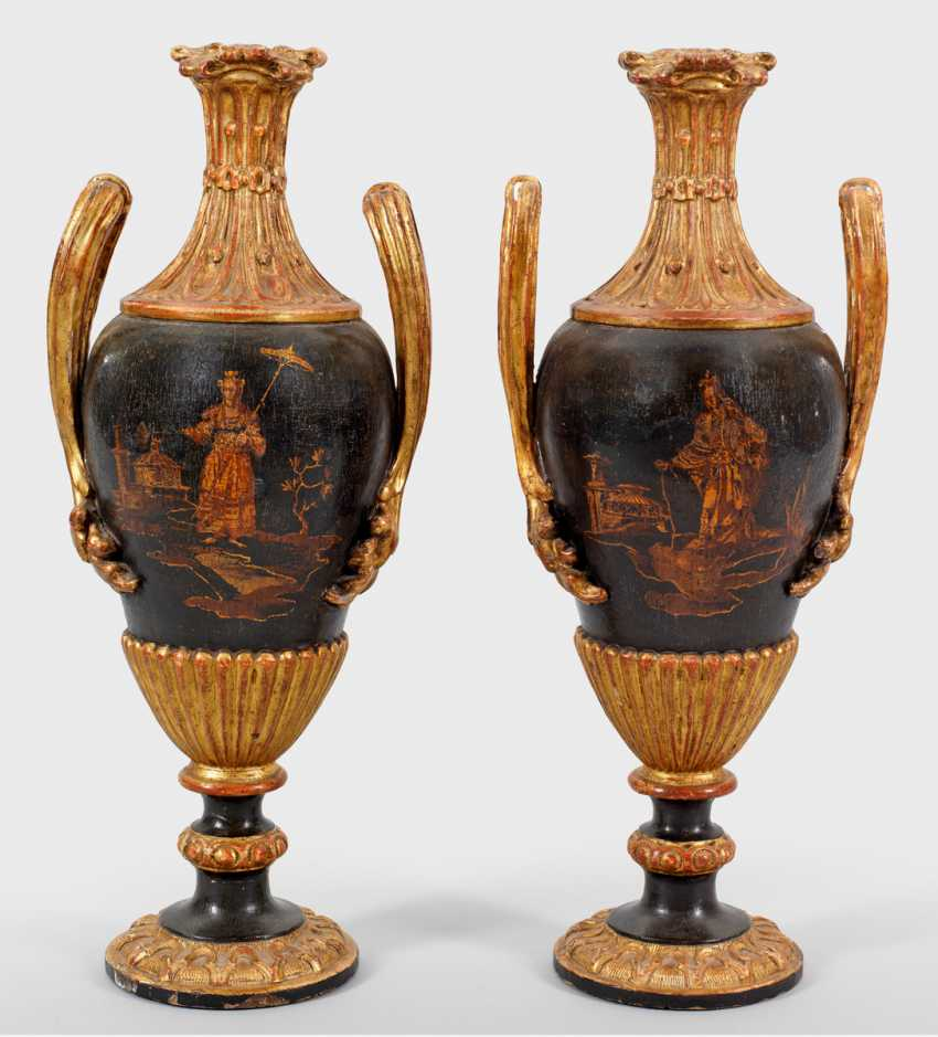 Pair of large ornamental vases - photo 1