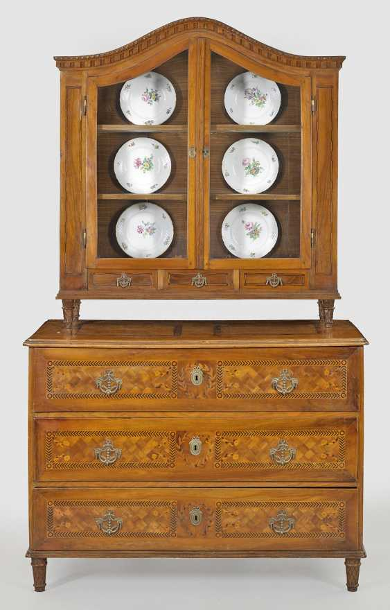 Large Louis XVI-top chest of drawers - photo 1