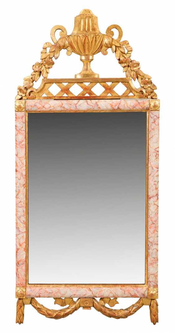 Rare Pair of Louis XVI wall mirror - photo 2