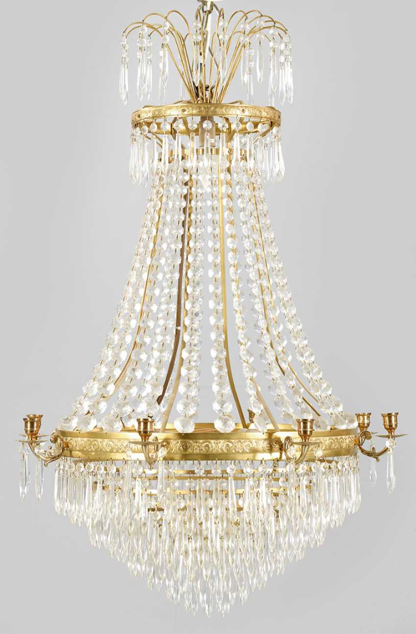 Ceiling chandelier in the Empire style - photo 1