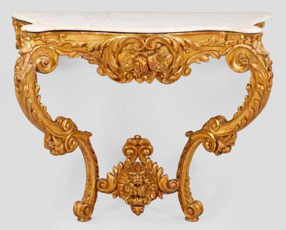 Large Rococo Console - photo 1
