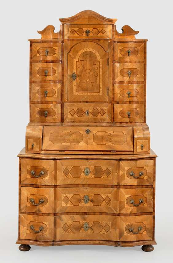 Large Baroque Tabernacle Secretary - photo 1