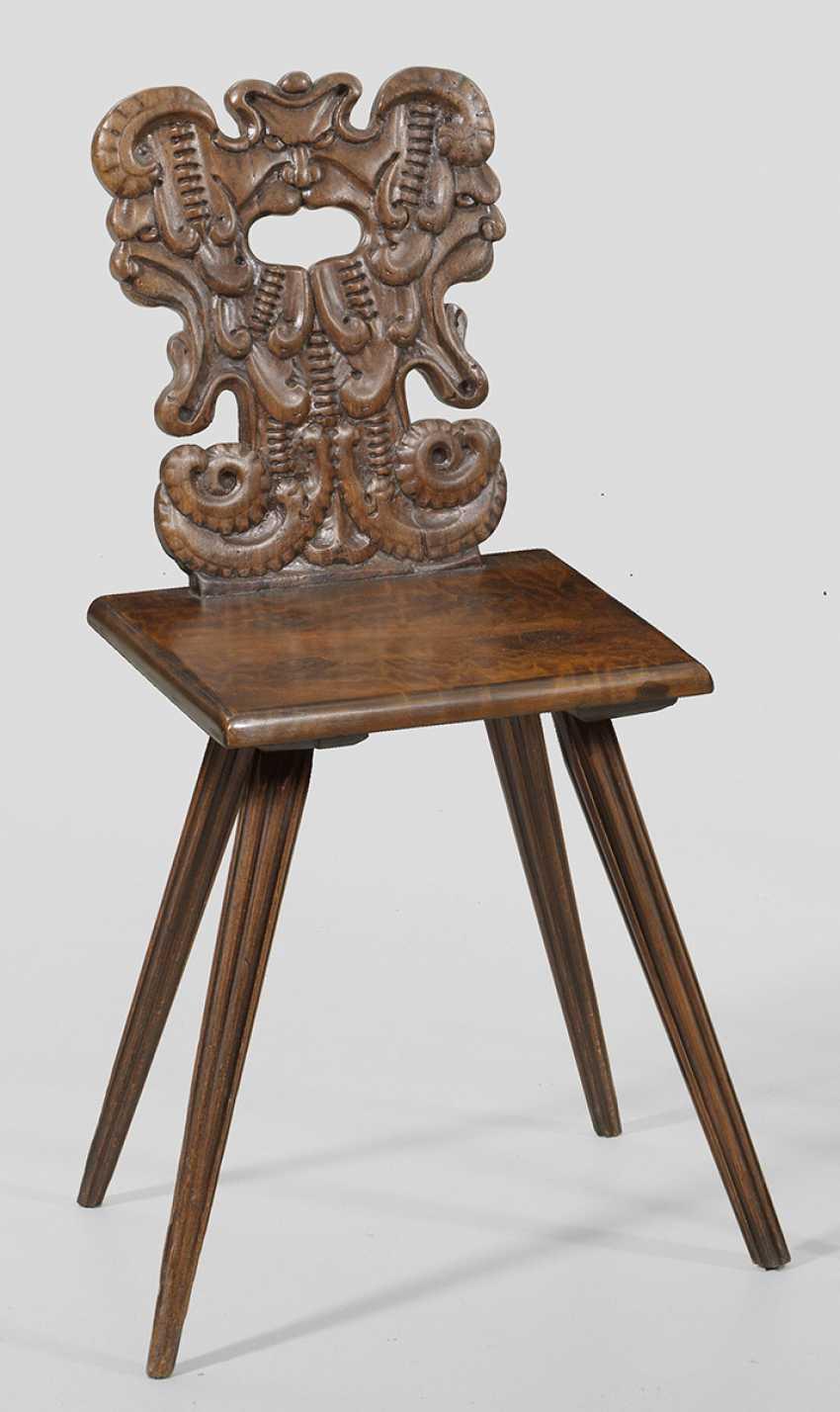 Baroque Face Chair - photo 1