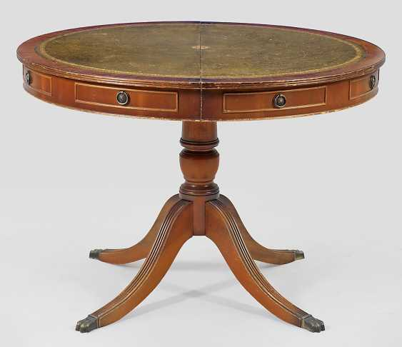 Drum table, in Regency style - photo 1
