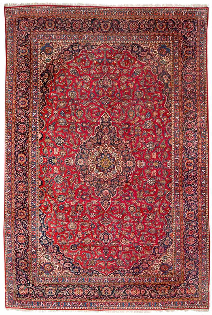 Very large Keschan carpet - photo 1