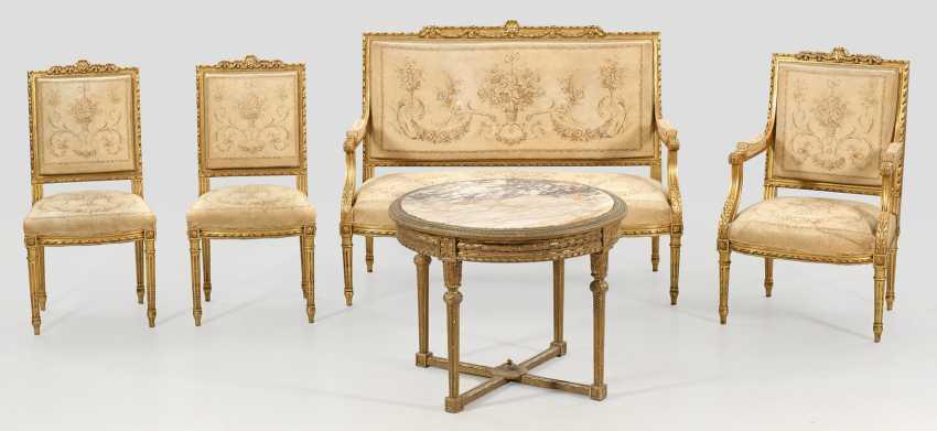 Louis XVI-Salongruppe - photo 1