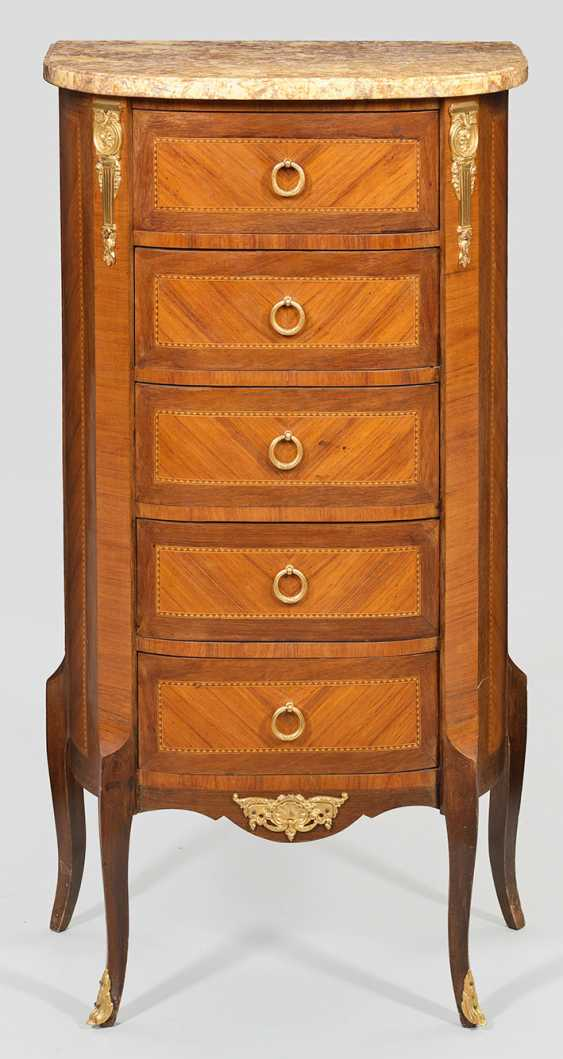 Louis XVI-arrow chest of drawers - photo 1