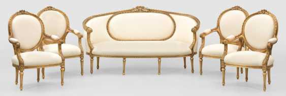 Salongarnitur im Louis XVI-Stil - photo 1
