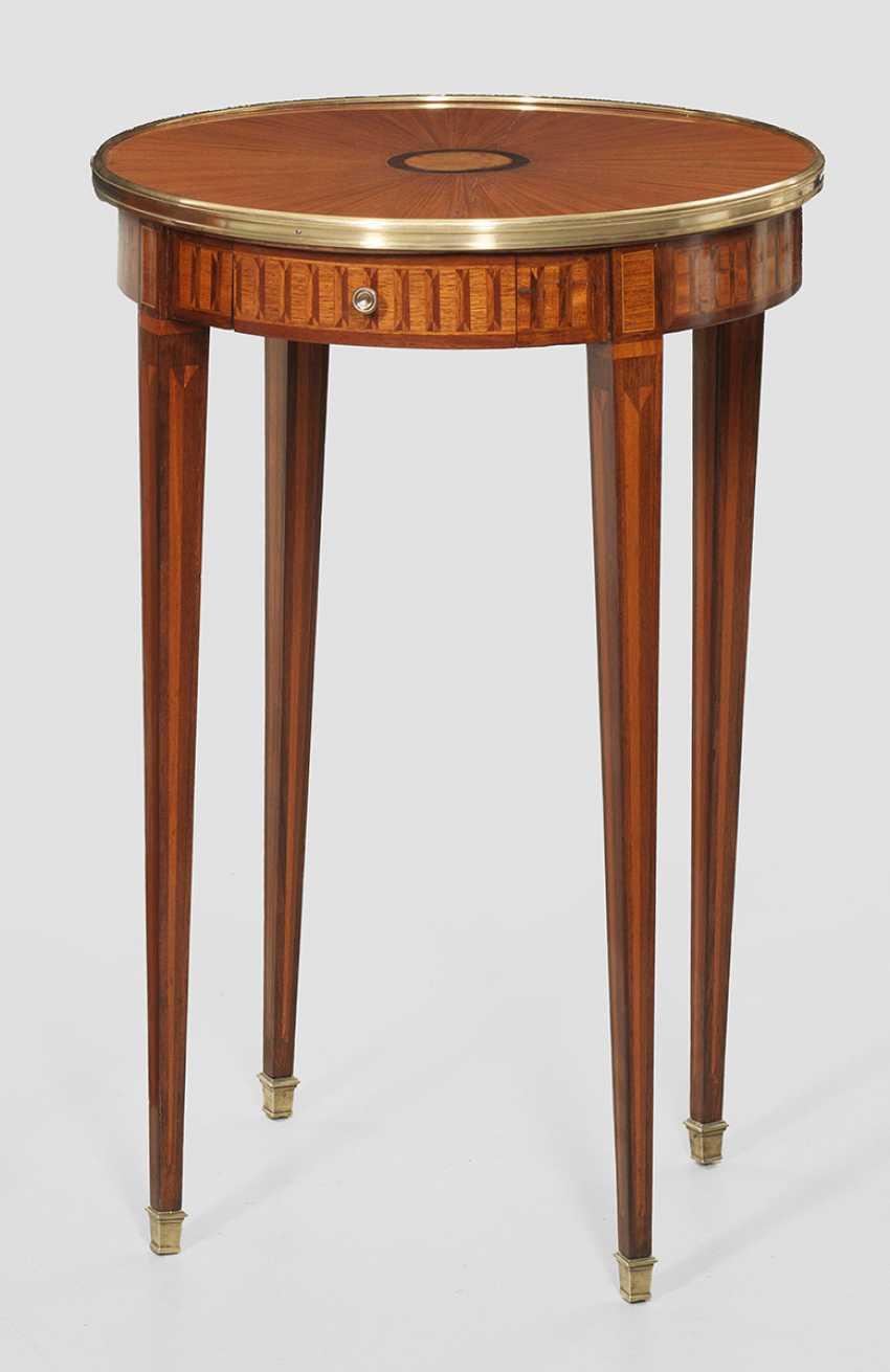 Louis XVI side table - photo 1