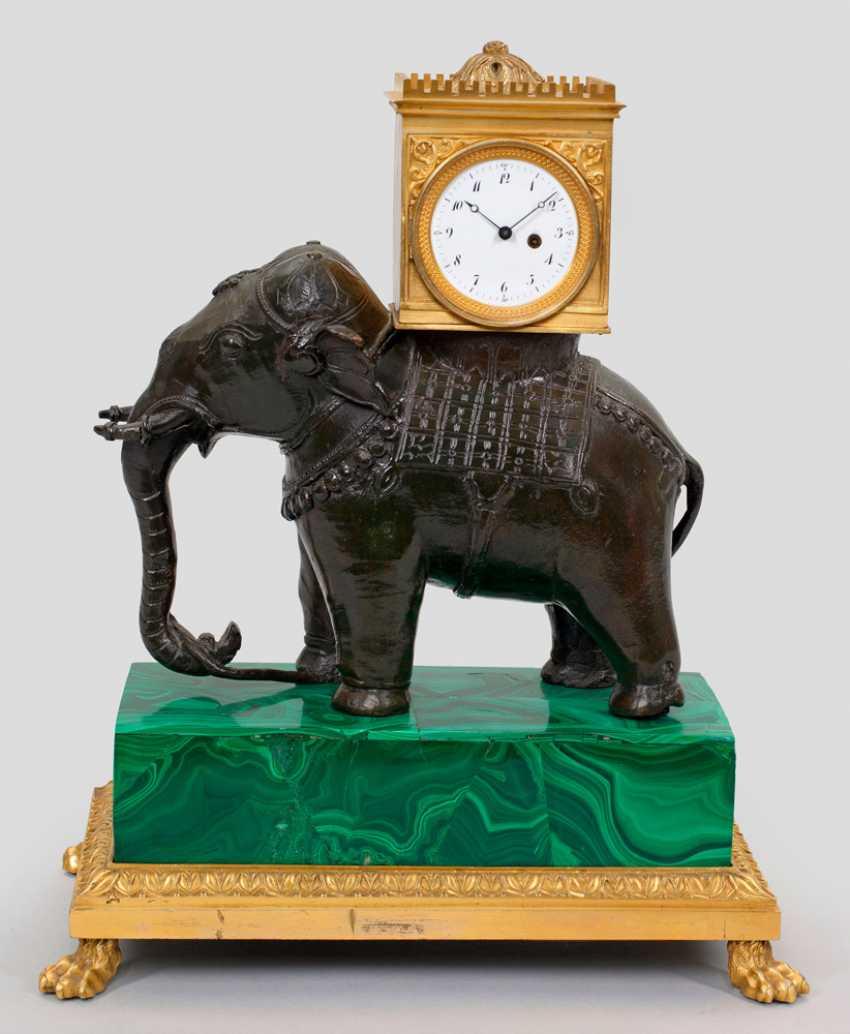 Rare Empire Table Clock - photo 1