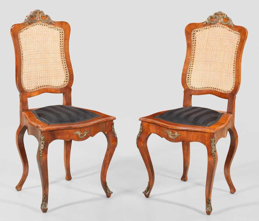 Pair Of Dresden Salon Chairs - photo 1