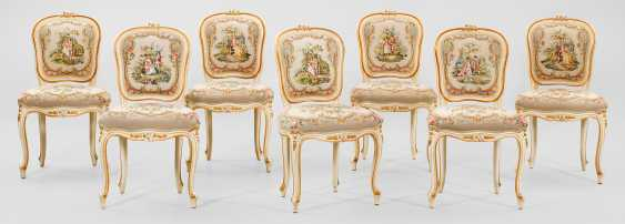 Chair group in the Rococo style - photo 1