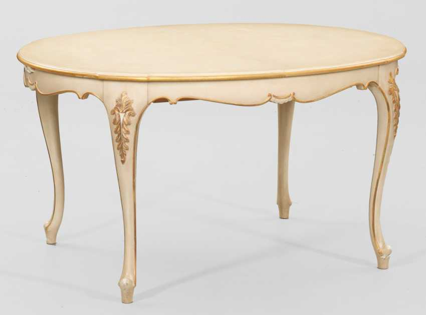 Extending table in Louis XV style - photo 1