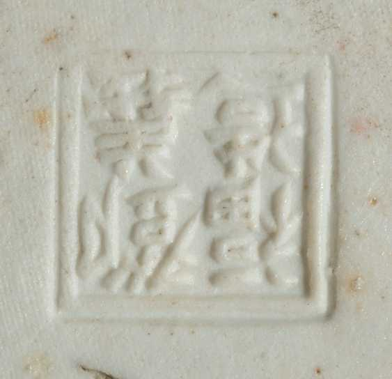Two cover cans with Li Taibo made of polychrome decorated Bisque porcelain - photo 2