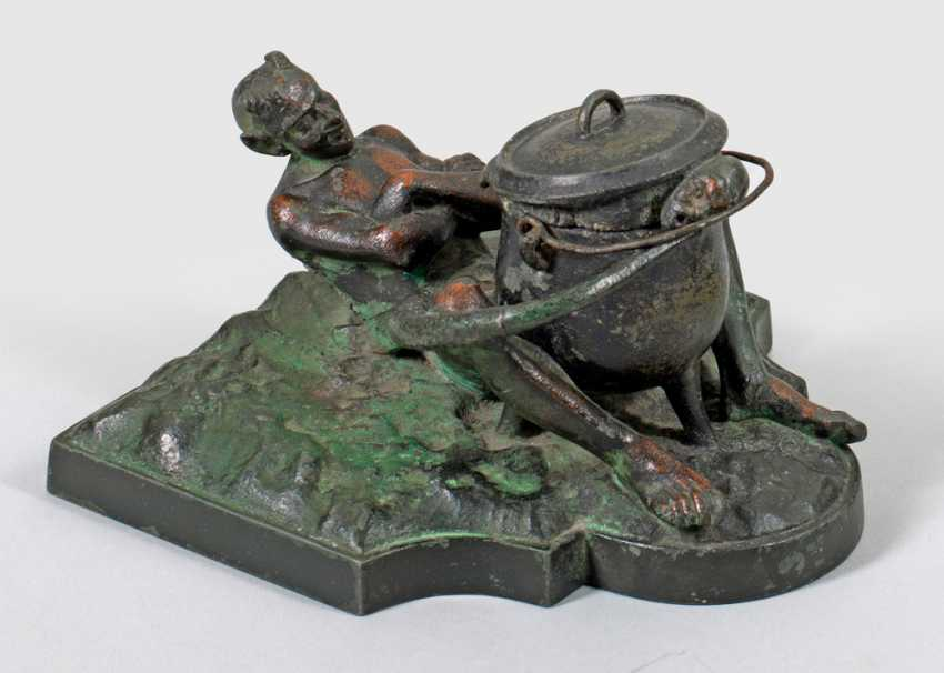 Sculptural Inkwell - photo 1