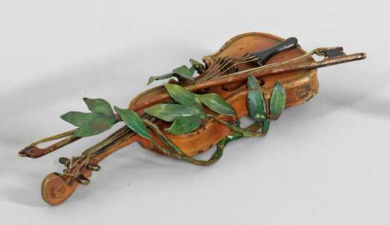Violin with bow - photo 1