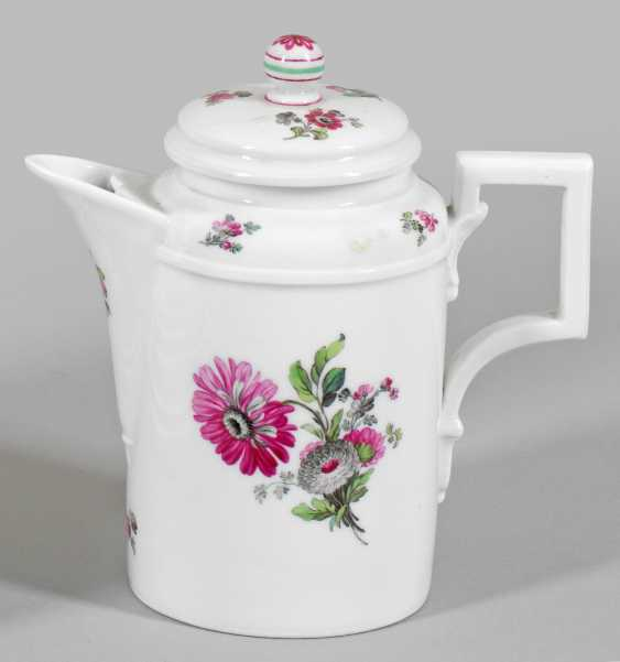 Empire mocha jug with floral decoration - photo 1