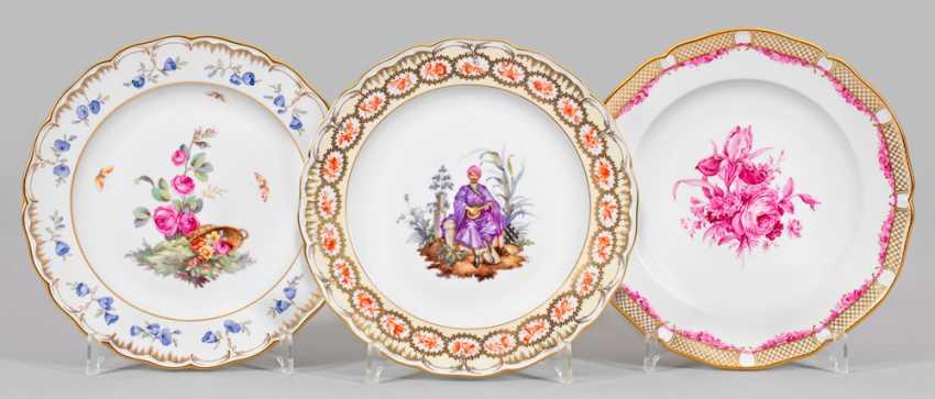 Three Collection Plates - photo 1