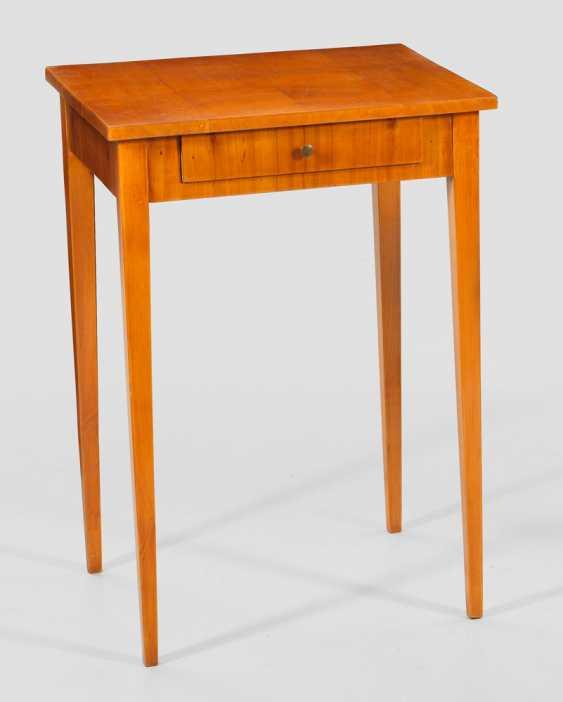 Biedermeier Side Table - photo 1