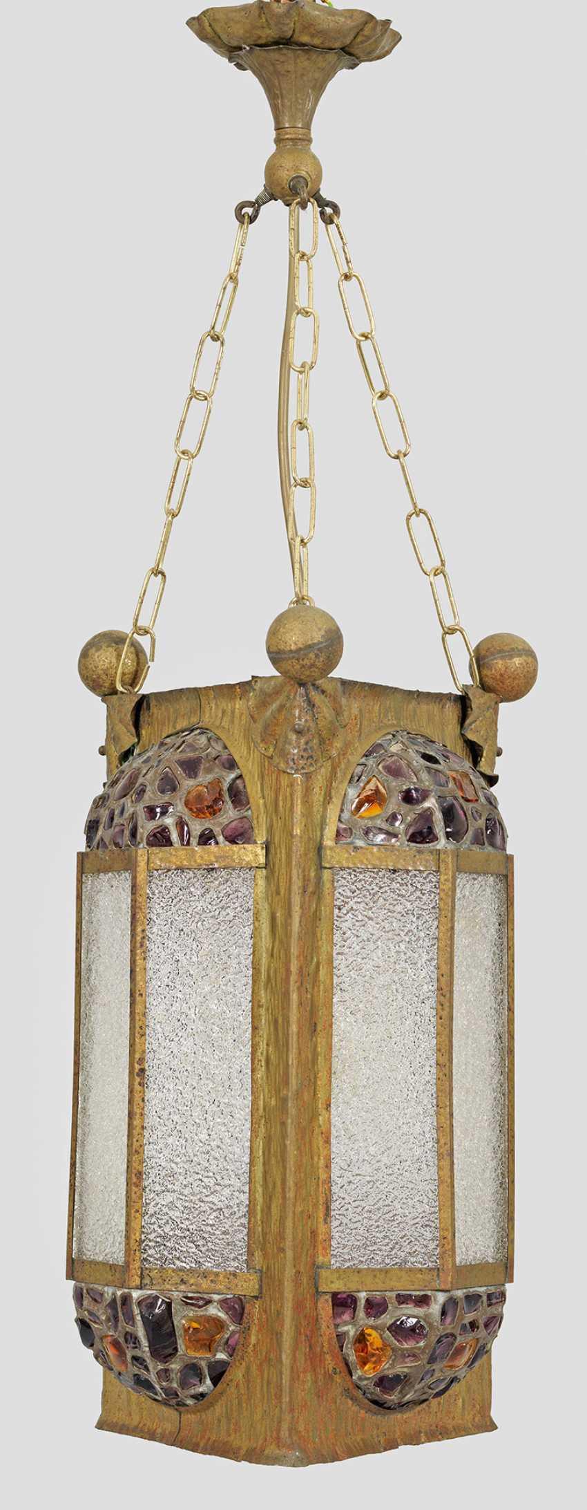 Art Nouveau Ceiling Lamp - photo 1