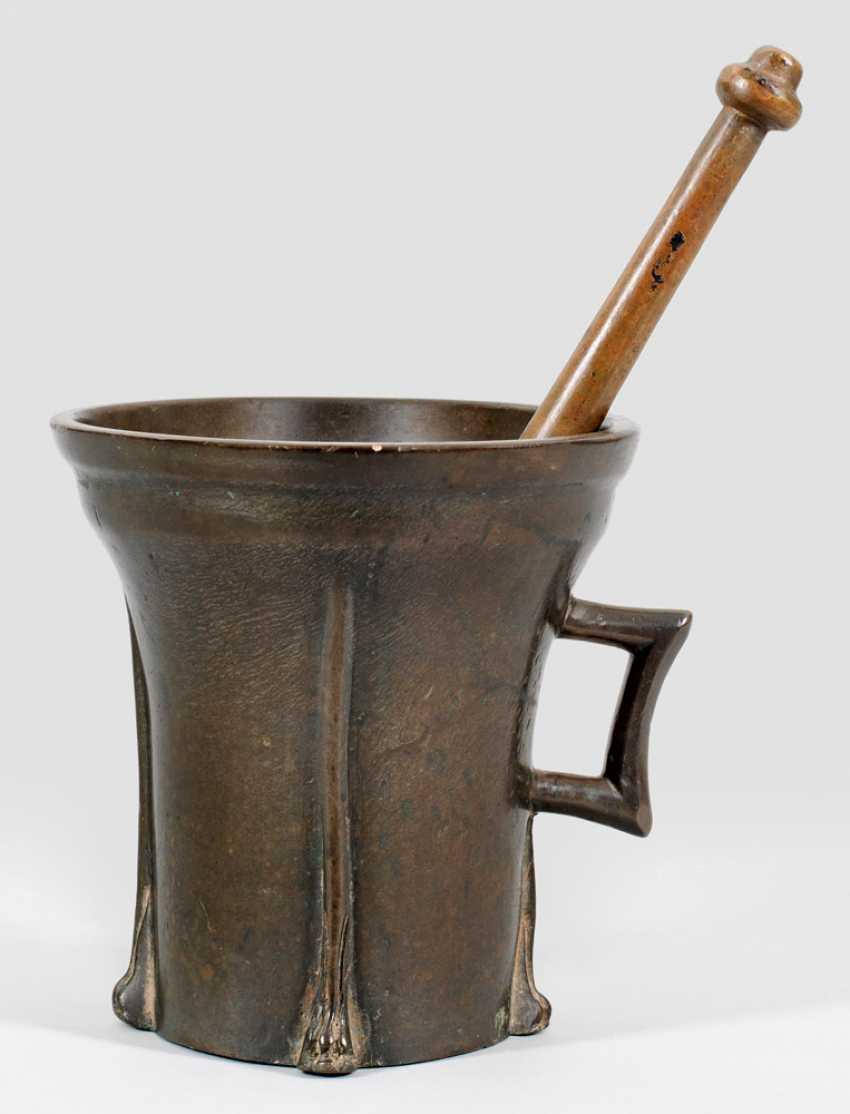 Rare late Gothic mortar - photo 1