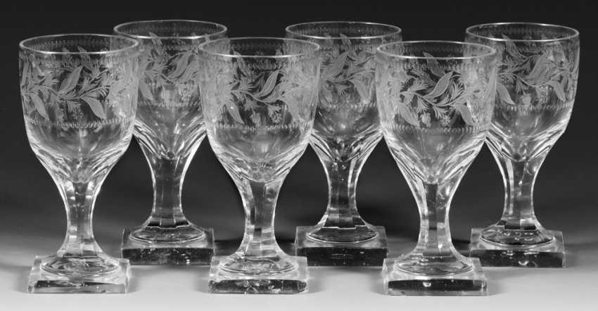 Set of six Empire-glasses - photo 1
