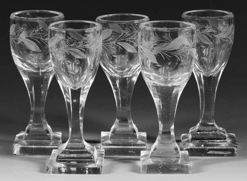 Five Empire-Glasses - photo 1