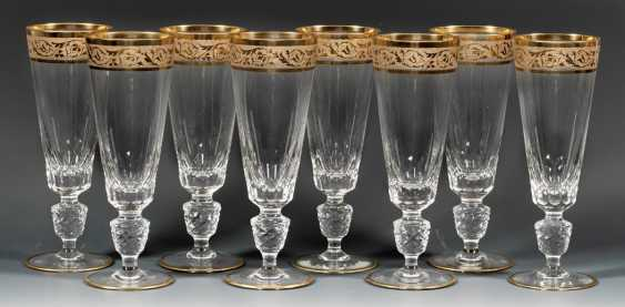 Eight Champagne Flutes - photo 1
