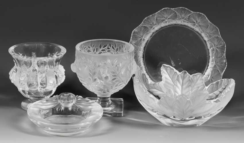 Five Lalique Decorative Objects - photo 1