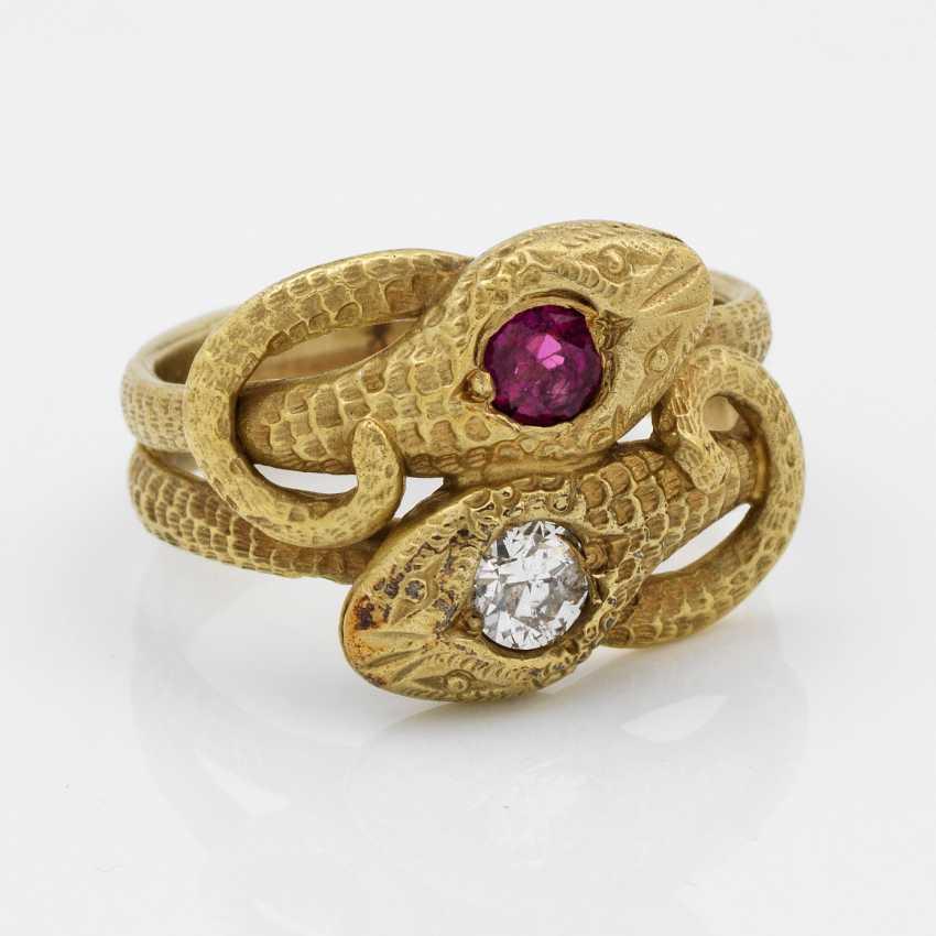 Biedermeier Friendship Ring - photo 1
