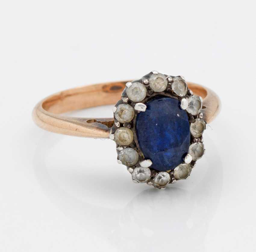 Classic Sapphire Ring - photo 1
