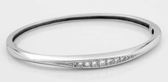 Fine brilliant bangle bracelet from Wempe - photo 1
