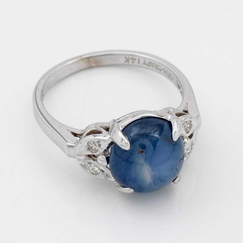 Fine Star Sapphire Ring - photo 1