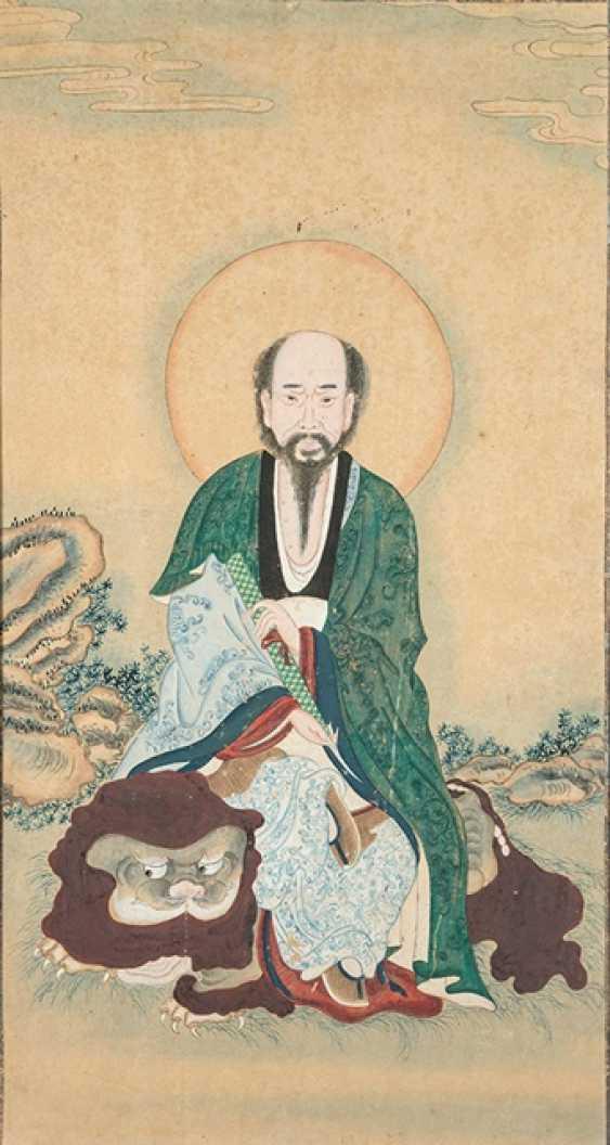 Three Buddha - and Luohan Portraits - photo 1