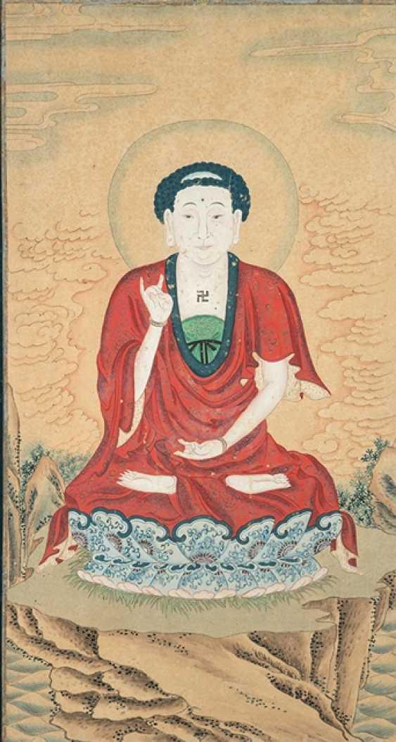 Three Buddha - and Luohan Portraits - photo 3