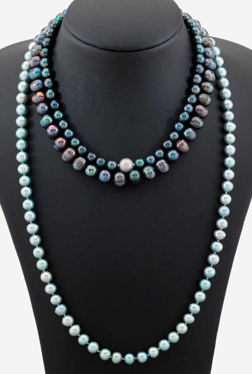 Three Freshwater Pearl Necklaces - photo 1