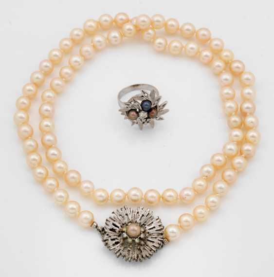 Perlen-Demi Parure - photo 1