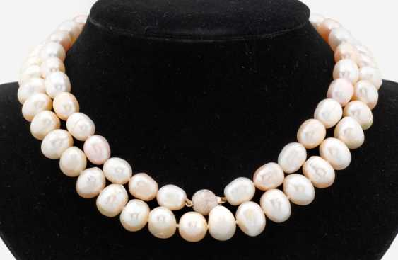 Two Freshwater Pearl Necklaces - photo 1