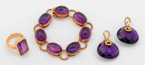 Amethyst-Parure - photo 1