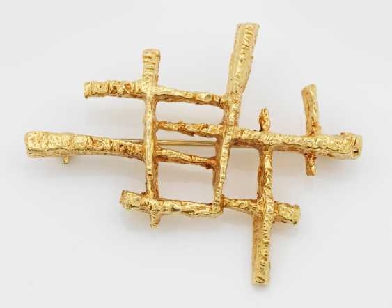 Modern brooch from the 70s - photo 1