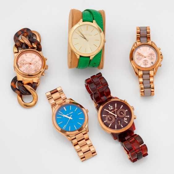 Five watches of Michael Kors - photo 1