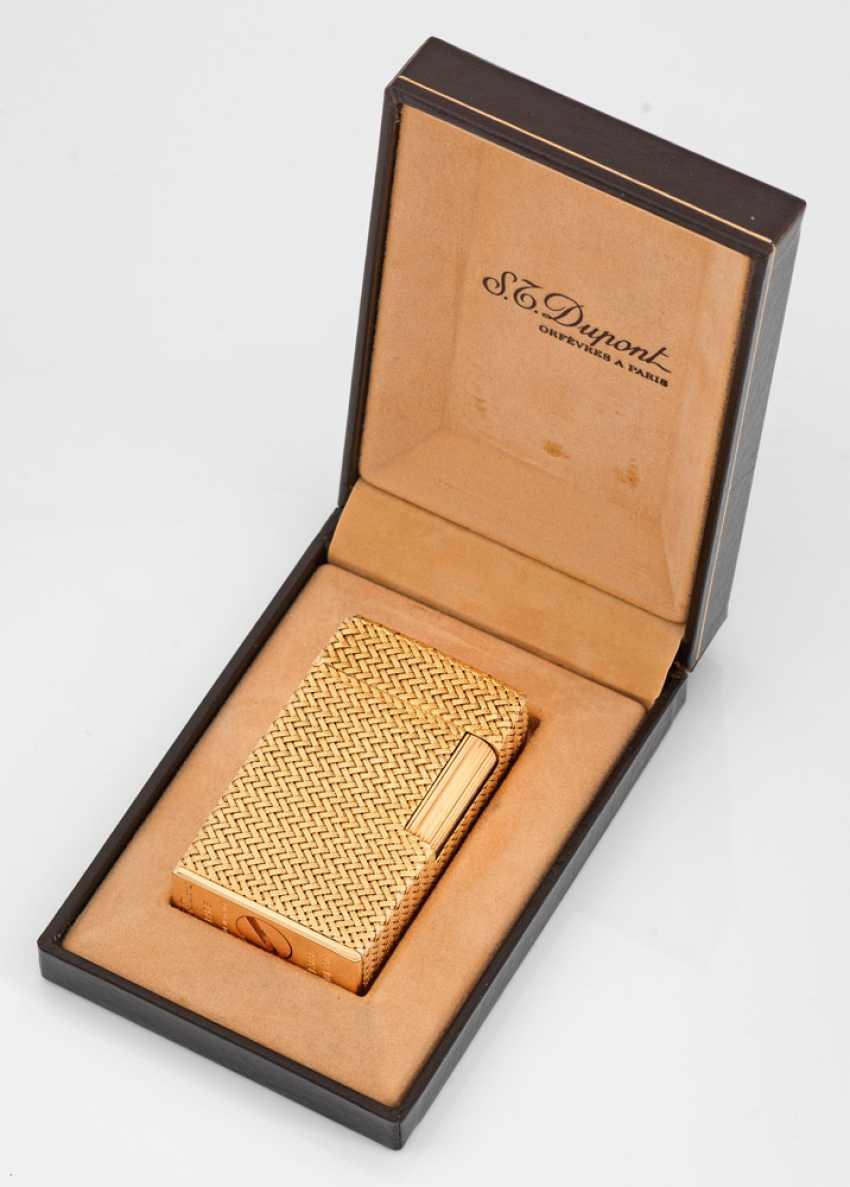 S.T. Dupont Gold-Feuerzeug Linie 1 - photo 1