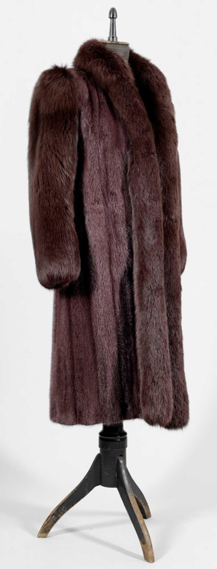 Vintage fur coat by Yves Saint Laurent - photo 1
