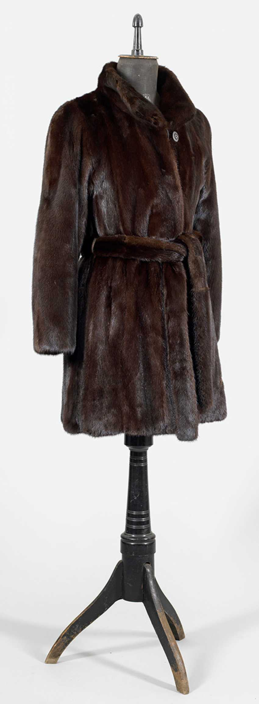 Mink Short Coat - photo 1