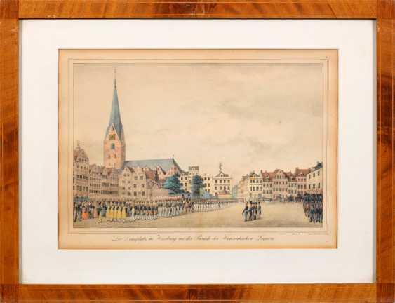 Four rare Hamburg views of Peter Suhr - photo 4