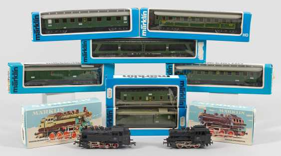 Mixed lot of model Railways by Märklin - photo 1