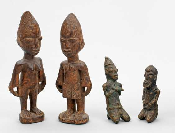 Four African Shrine-characters - photo 1